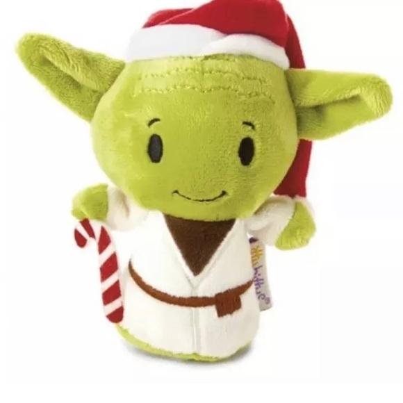 BABY YODA Stars Wars The Mandalorian  Itty Bitty Stuffed Animal Plush Toy NWT